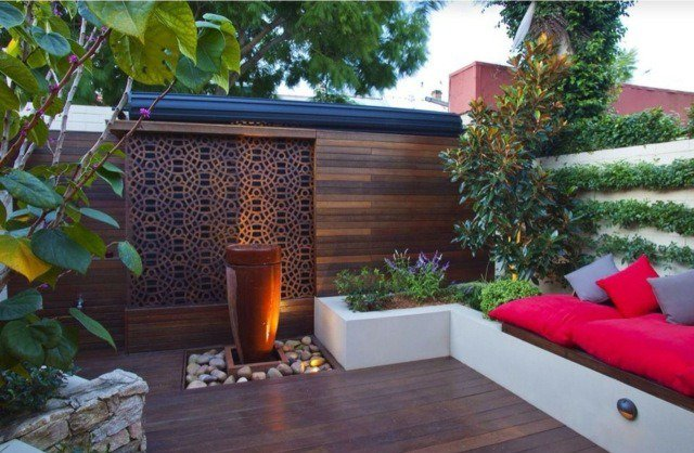 deco mur terrasse mc immo. Black Bedroom Furniture Sets. Home Design Ideas