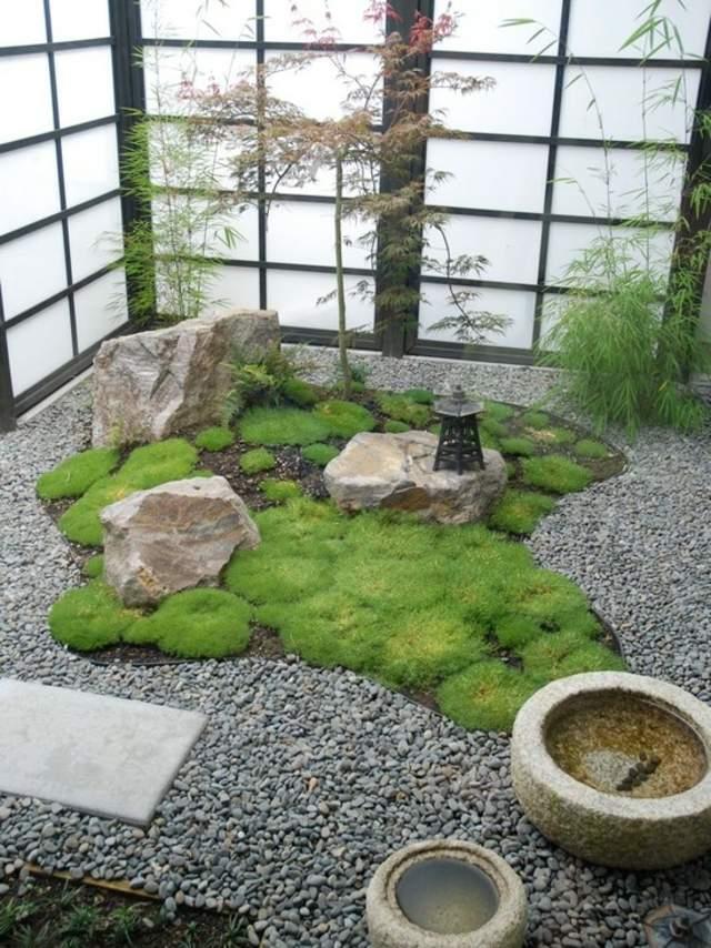 Objet deco jardin japonais - Mc immo