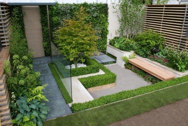 Jardin extérieur aménagement - Mc immo